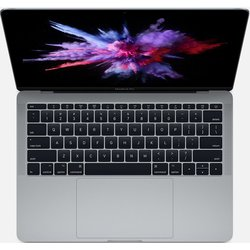 "Apple MacBook Pro 13 with Retina display Mid 2017 (Intel Core i5 2300 MHz/13.3""/2560х1600/16GB/256GB SSD/DVD нет/Intel Iris Plus Graphics 640/Wi-Fi/Bluetooth/macOS) (Z0UH0007F) (серый)"