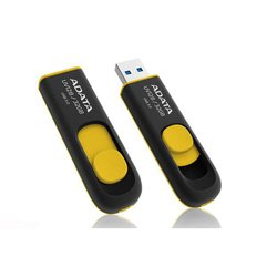 USB флеш диск ADATA DashDrive UV128 16GB (черно-желтый)