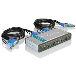 KVM-переключатель D-Link DKVM-4K/A7A (Pro Connect 4 port KVM)