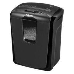 Шредер Fellowes PowerShred M-8C (FS-4604101) (черный)