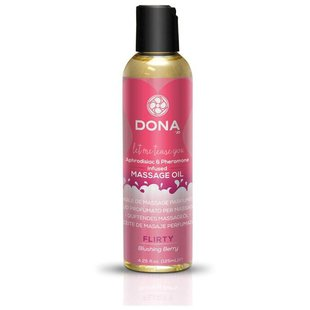JO Массажное масло DONA Massage Oil Flirty Blushing Berry 125 мл