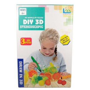 3D-ручка LeiMengToys Stereoscopic - Фрукты